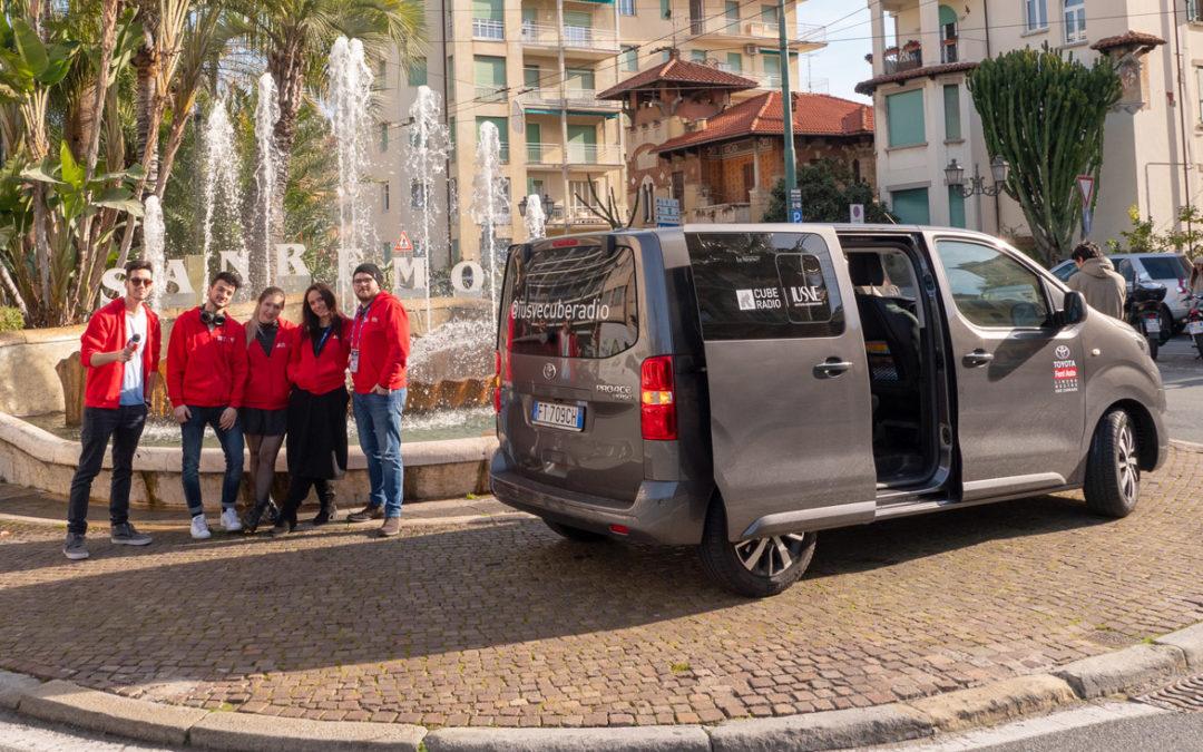 Toyota Ferri Auto allestisce un Proace Verso per Cube Radio