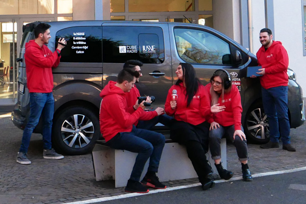 IUSVE Cube Radio a Sanremo 2019